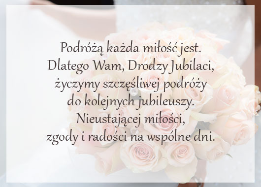 życzenia na rocznicę ślubu